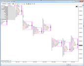 TPChart MarketProfile Without Volume Histogram